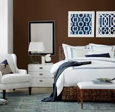 Blue And White Home Decor Dark Blue And Brown Bedroom Home Design Ideas