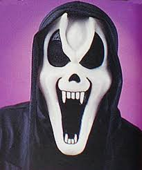 skeleton ghost mask ghost face mask with shroud fangs ghost face mask with shroud