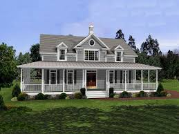 built in desk and bookcase country style house plans with wrap