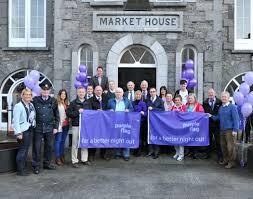 Purple Flag Mullingar Businesses Raise The Purple Flag