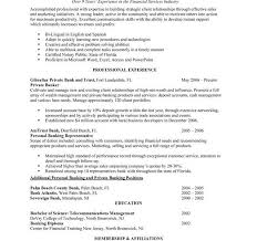 Banker Resume Personal Banker Sample Resume Resume Banker Sample Resume