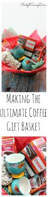 gift basket ideas for raffle diy the ultimate coffee gift basket budget savvy
