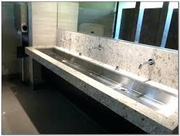 bathroom trough sink trough sinks for bathrooms the trough sink traditional bathroom