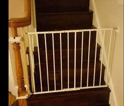 Baby Gate For Top Of Stairs With Banister Baby Gates Lucie U0027s List