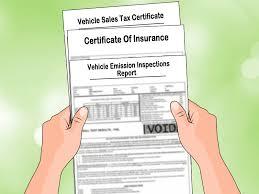 Bill Of Sale Car Illinois by How To Fill Out A Car Title Transfer 11 Steps With Pictures