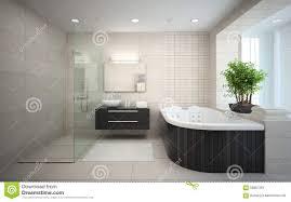 interieur salle de bain moderne intérieur de la salle de bains de conception moderne avec le