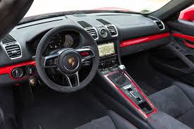 Porsche Boxster Interior - 2016 porsche boxster spyder first drive automobile magazine