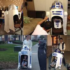 Mater Halloween Costume Toddler Stay Puft Marshmallow Man Costume Stroller Ghostbuster