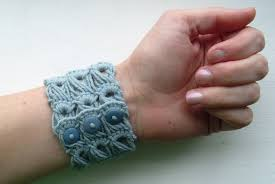 broomstick lace broomstick lace bracelet cult of crochet