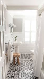 white bathroom tile ideas 10 beyond stylish bathrooms with patterned encaustic tile white