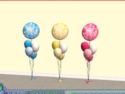 mod baby shower mod the sims baby shower balloons