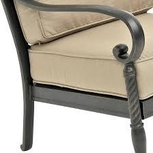 kent 4 piece metal patio conversation furniture set target