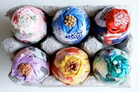 Decorating Easter Eggs With Fabric by Easter Crafts To Brighten Any Home Reader U0027s Digest