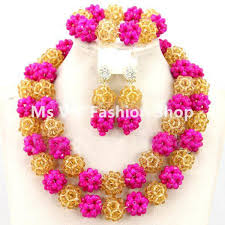 beads design necklace images 2018 african beads jewelry set 2017 new gold trendy nigerian jpg