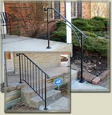 Outdoor Banisters And Railings Best 25 Exterior Stair Railing Ideas On Pinterest