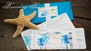 destination wedding invites sle boarding pass destination wedding invitation