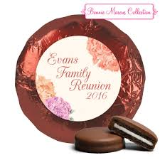 family reunion favors family reunion favors blooming belgian chocolate covered oreo