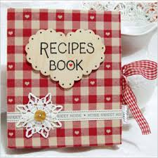 etsy finds recipe books