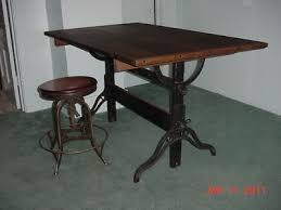 Hamilton Drafting Tables 1917 Antique Hamilton Drafting Table Maple U0026 Cast Iron 134126777