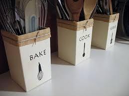 kitchen utensil canister make your own kitchen utensil holders recipe beanie utensil