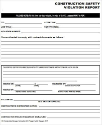 safety report sample product safety safety report templates 10