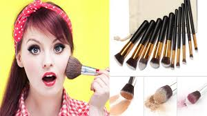 cheap makeup artist best cheap makeup brush set 10 pcs premium synthetic kabuki