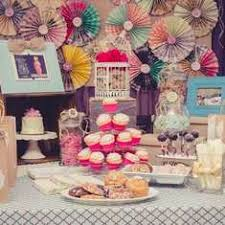 vintage shabby chic birthday
