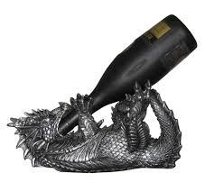 new dragon wine bottle holder liquor or olive oil kitchen