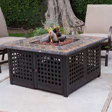 Firepit Set by Outdoor Gas Fire Pit Table Fire Pit Logs Patio Propane Fire Pit