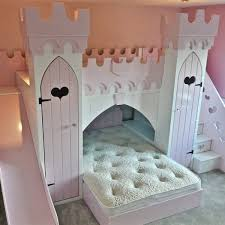 Bunk Bed Castle Princess Castle With Slide Children S Themed Beds By