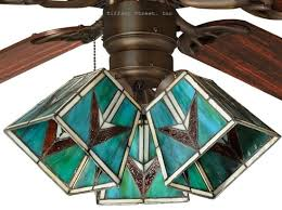 Stained Glass Ceiling Fan Light Shades 41 Best Stained Glass Ceiling Fan Images On Pinterest Ceiling