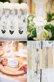 wedding reception ideas escort cards diys