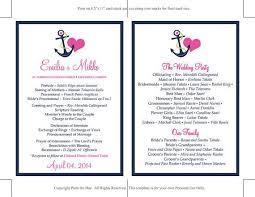 best 25 print your own wedding programs ideas on pinterest