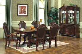 Dining Room Set With China Cabinet by Riverton Stainless Steel Top Dining Room Table Set By Standard