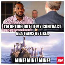 Lebron James Funny Memes - best of lebron opt out memes