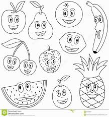 fruit cartoon coloring coloring pages coloring pages
