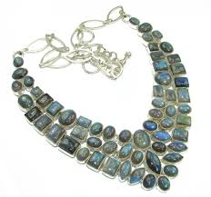 gemstone silver necklace images Wholesale silver necklace buy online handmade sterling silver jpg
