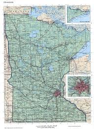 Minnesota State Map by Minnesota Mapfree Maps Of Us