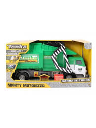 minecraft dump truck tonka mighty motorized garbage truck mr toys toyworld