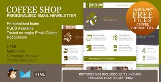 free responsive email newsletter templates u2013 top newsletter template