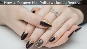 how to remove nail polish without a remover jpg