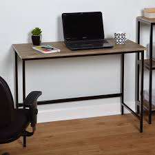 simple living piazza wood and metal desk free shipping today