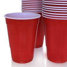 50 pack 16 oz plastic cup