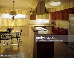1970s kitchen interior decor stock photo getty images