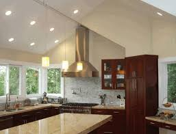 Kitchen Lighting Solutions Vaulted Ceiling Lighting Solutions Wooden Wall Shelves White