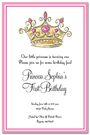 princess crown invitation template orax info