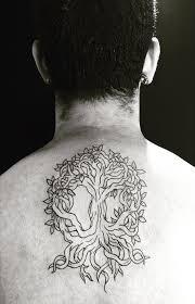 tree design on back