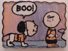 Charlie Brown Costume Wears Charlie Brown Costume Mask Glitter Halloween Ornament Vtg