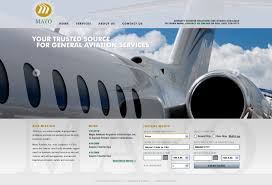 lead generation web design project mayo aviation fusionbox