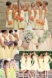 yellow bridesmaid dress top 10 most popular colors for bridesmaid dresses from